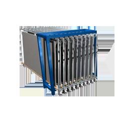 metal sheet rack vertical eurostorage storage sheets. Black Bedroom Furniture Sets. Home Design Ideas