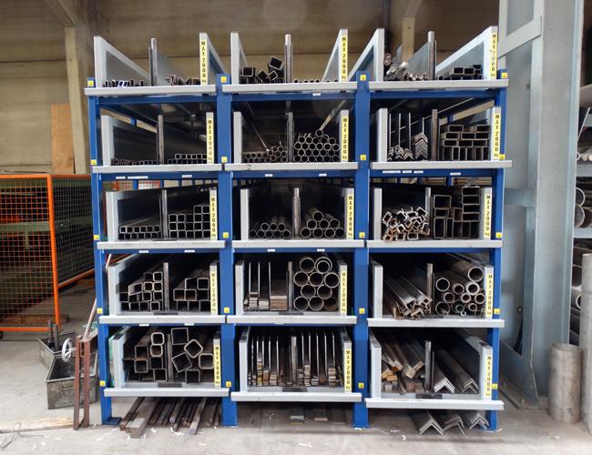 Roll Out Cassette Rack Eurostorage Opslagsystemen