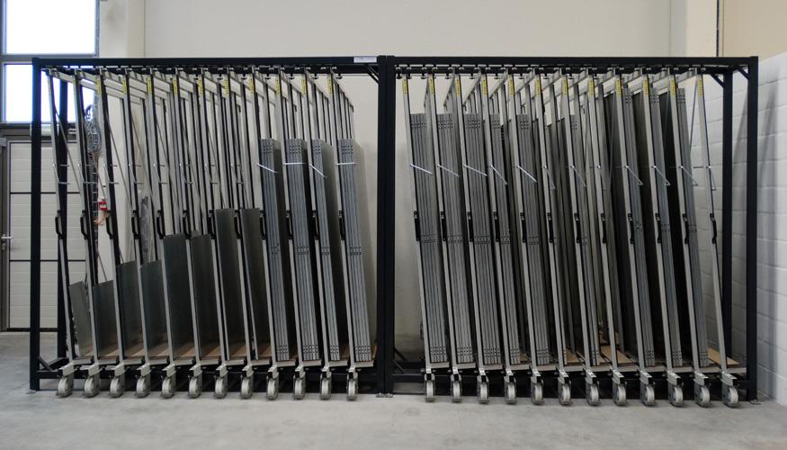 Rack 224 T 244 Les Vertical Eurostorage Stockage T 244 Les Et
